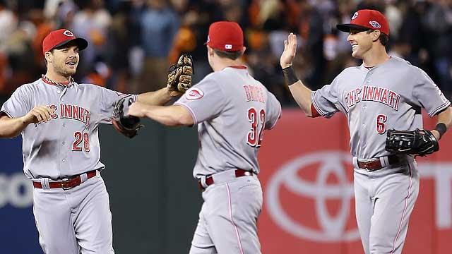 Reds react strong, win Game 1