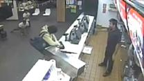 Customers Prevent Robbery At McDonald's