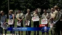 Mechanicsburg rally supports keeping ban on gays in Boy Scouts