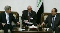 Raw: Kerry Makes Surprise Iraq Visit