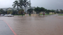 Wet Weather Brings Flooding to Oahu