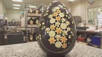 Exactly How a 12-Pound Chocolate Easter Egg is Made