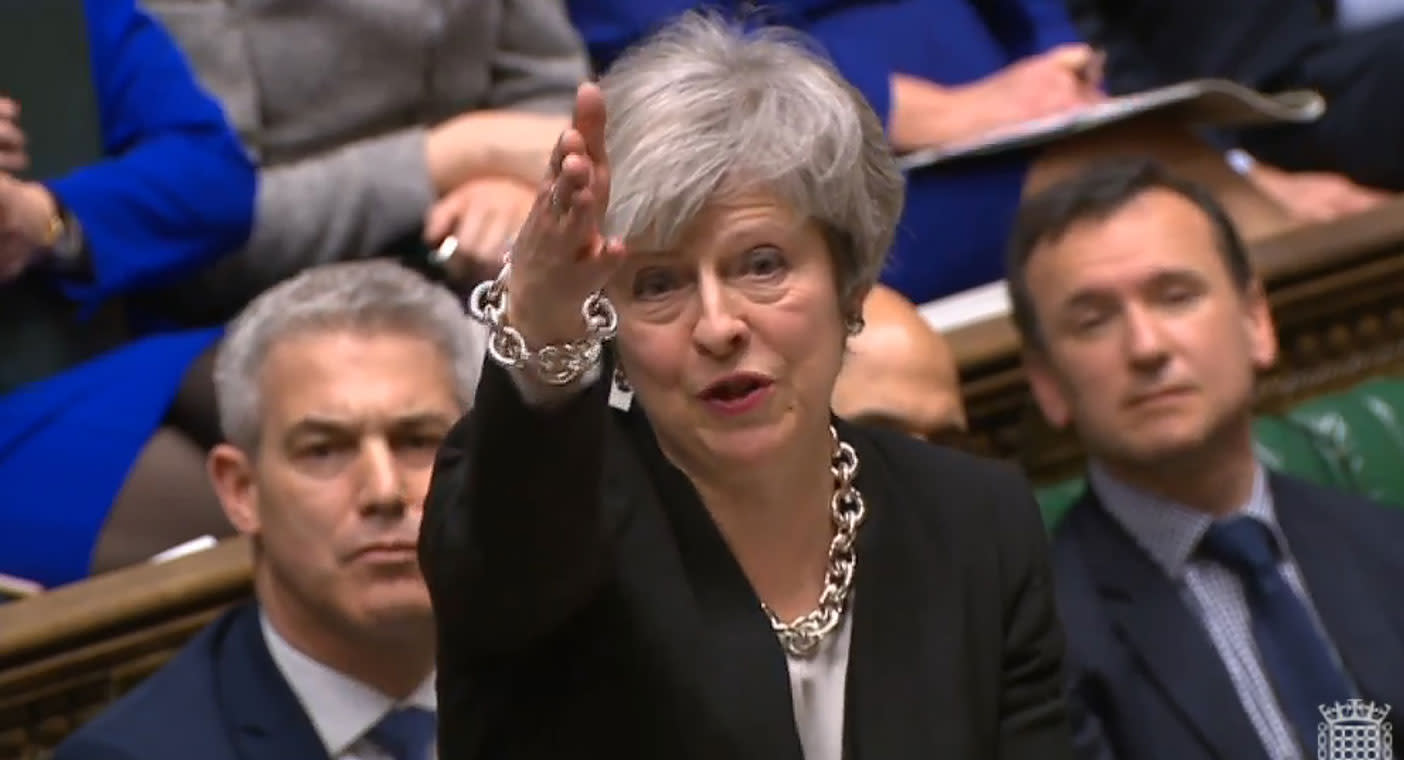Corbyn amendment defeated as MPs vote on Brexit Plan B
