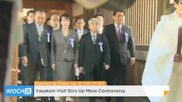 Yasukuni Visit Stirs Up More Controversy