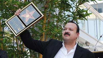 Pepe Aguilar gets Hollywood star next to father
