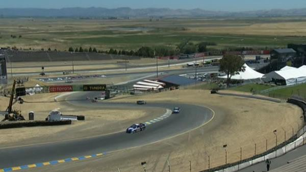 NASCAR fans gear up, camp out in Sonoma