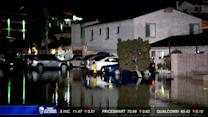 Huge water main break causing huge problems in Point Loma