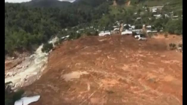 Mudslide buries village after Mexico storms
