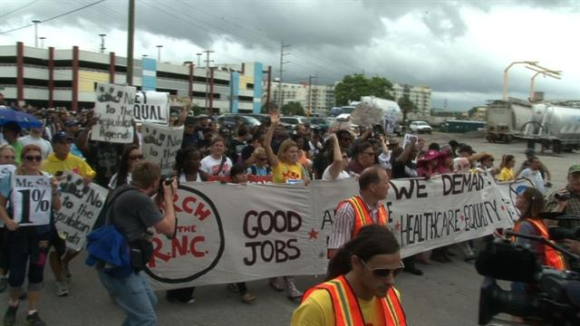 Protests: Occupy Wall Street hits Tampa