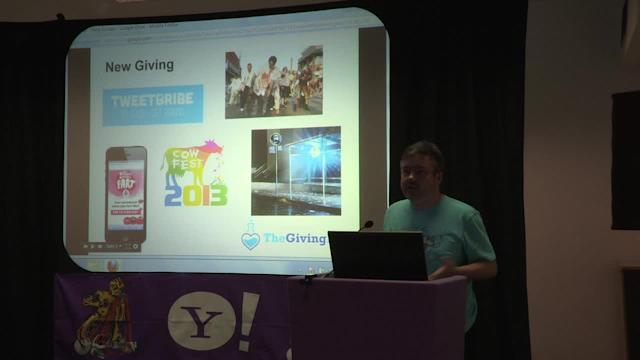 Hacking for Good: Fundraising through farting - Dom Vallely, TheGivingLab