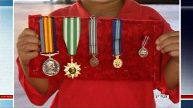 Thieves steal veteran's medals