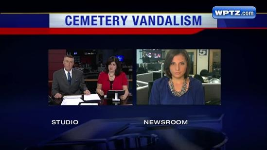 More than 70 headstones vandalized in Claremont