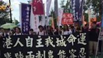 Pro-Democracy Activists Gather for Hong Kong March
