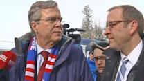 Jeb Bush Tells Jon Karl What He'd Say to Undecided Voters in New Hampshire