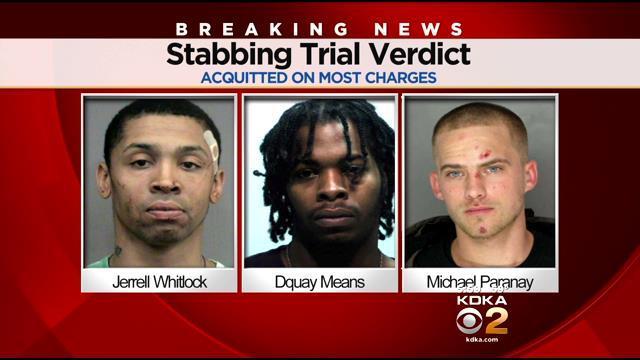 Jury Finds 3 Suspects In Adams' Stabbing Not Guilty On Most Serious Charges