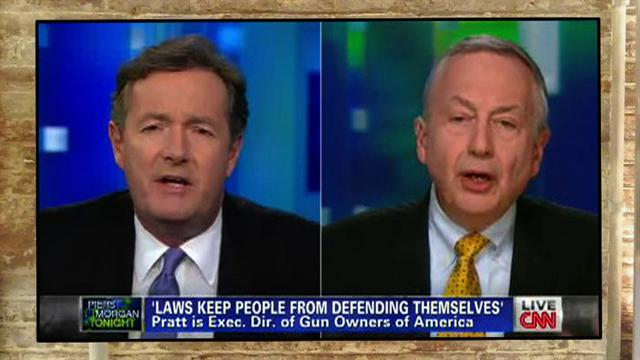 Gun owners vs. Piers Morgan