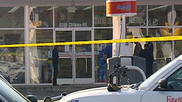 911 calls released in gas station standoff