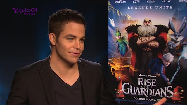Chris Pine gets all frosty for his latest role