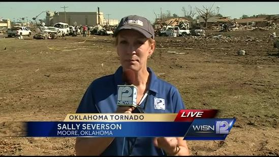 Community responds to help clean up Moore, Okla., cemetery