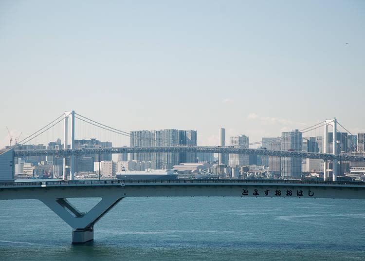 豐洲大橋將於2020年東京奧運時,成為選手村及各個會場的重要動線樞紐。