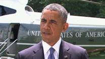 President Obama Rules Out Combat Forces in Iraq