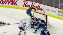 Canucks score two goals 42 seconds apart