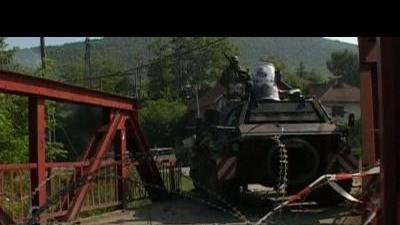 Kosovo Serbs and NATO peacekeepers in shootout