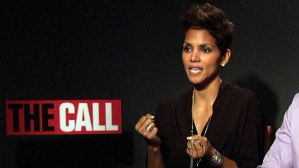 Halle Barry talks with ABC7's Janet Davies