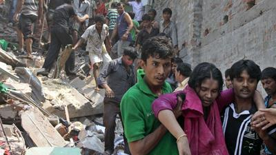 Death Toll Rises in Bangladesh Factory Collapse