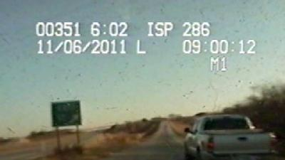 Iowa State Patrol Releases Chase Video