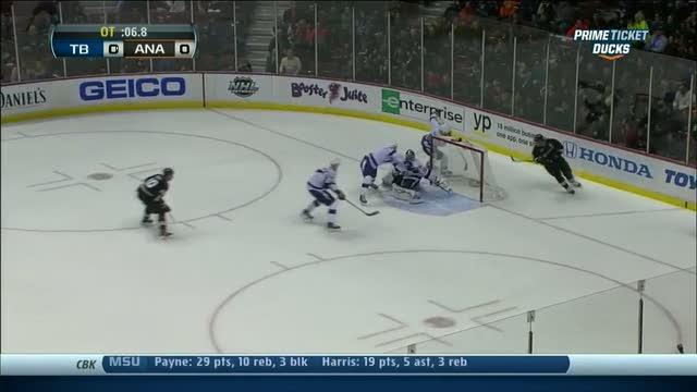 Ryan Getzlaf wins it in OT with 5.2 seconds