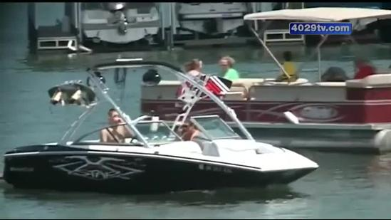 Officers patrolling waters for drunk boaters