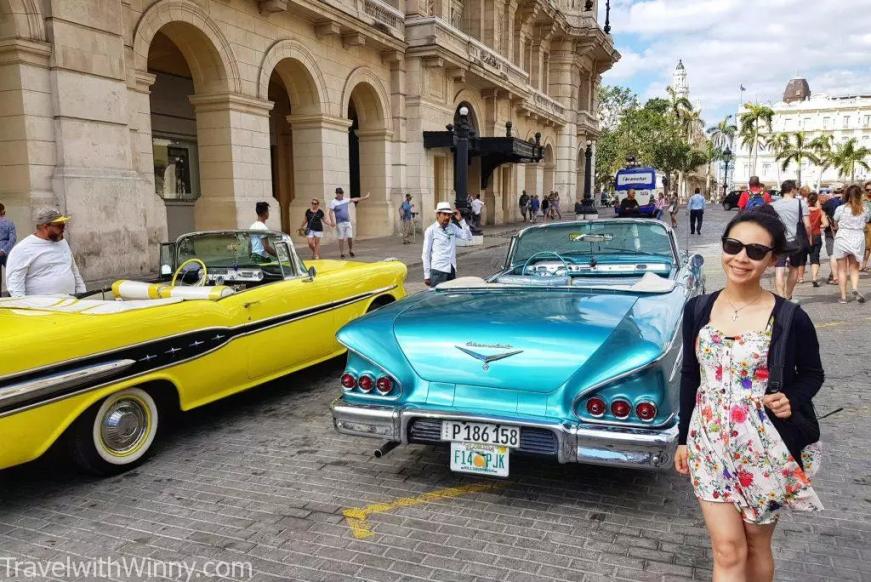 havana 古巴 古董車