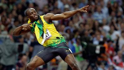 Bolt does it again, wins Olympic 200