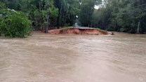Flash Floods Wash Away Road Section in South Carolina