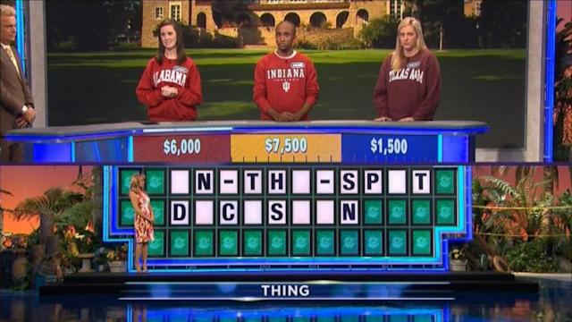 'Wheel of Fortune' Mistake Costs Contestant Chance at $1M