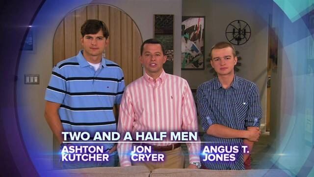 Two and a Half Men on Red Cross