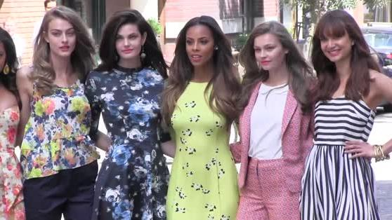 Rochelle Hume launches her Very fashion line