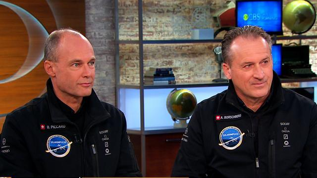 Solar-powered plane could be first to circle globe