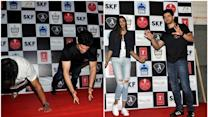 From pushups to dance Athiya and Sooraj did it all at Mithibai college