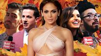 Celebs Found Out Which J.Lo Song They Are On The AMA's Red Carpet