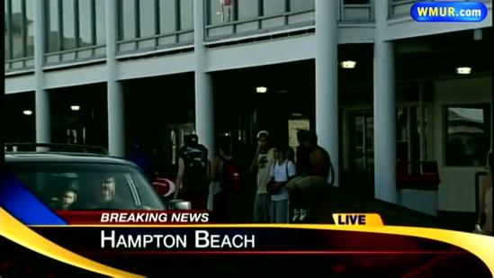 Pedestrians injured in Hampton Beach crash
