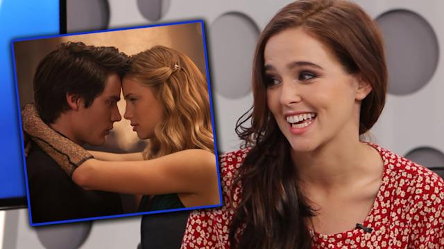 'Vampire Academy' Caption This with Zoey Deutch