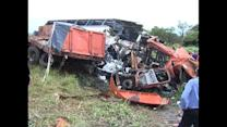 53 dead in Zambia bus crash