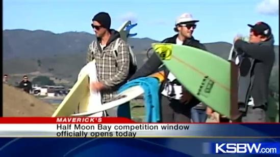 Mavericks window opens for big wave competition