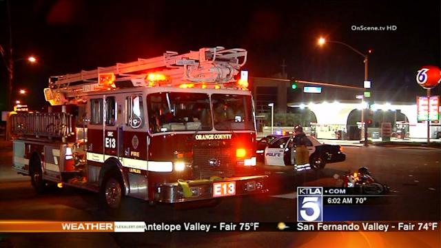 Motorcyclist Critically Injured in Buena Park Hit-and-Run