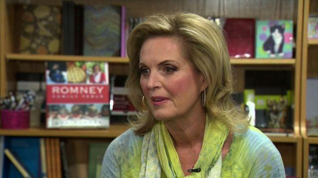 Ann Romney dishes on new cookbook