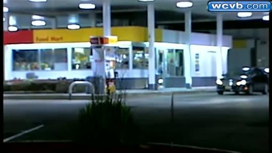 Gas station clerk chases away robber with baseball bat 2
