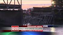 Bridge Collapse Sends Cars, People Plummeting Into River