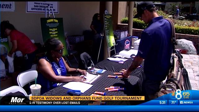 SDPOA widows and orphans fund golf tournament